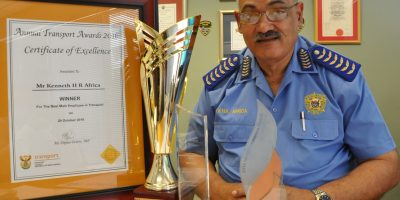 TRAFFIC CHIEF KENNY AFRICA RETIRES AFTER 46 YEARS OF SERVICE