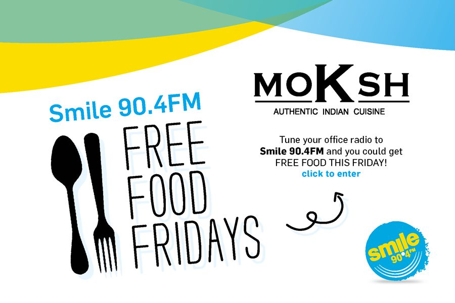 Free Food Fridays Is BACK + spicy as ever with Moksh!