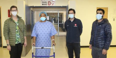 Covid-19 recovery story: Paramedic discharged from Tygerberg after 23 days in ICU