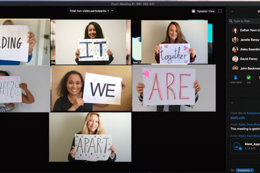 Women's Day 2020 – Holding It Together While We Are Apart