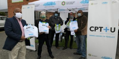 Cape Town spaza shops receive covid-19 safety kits