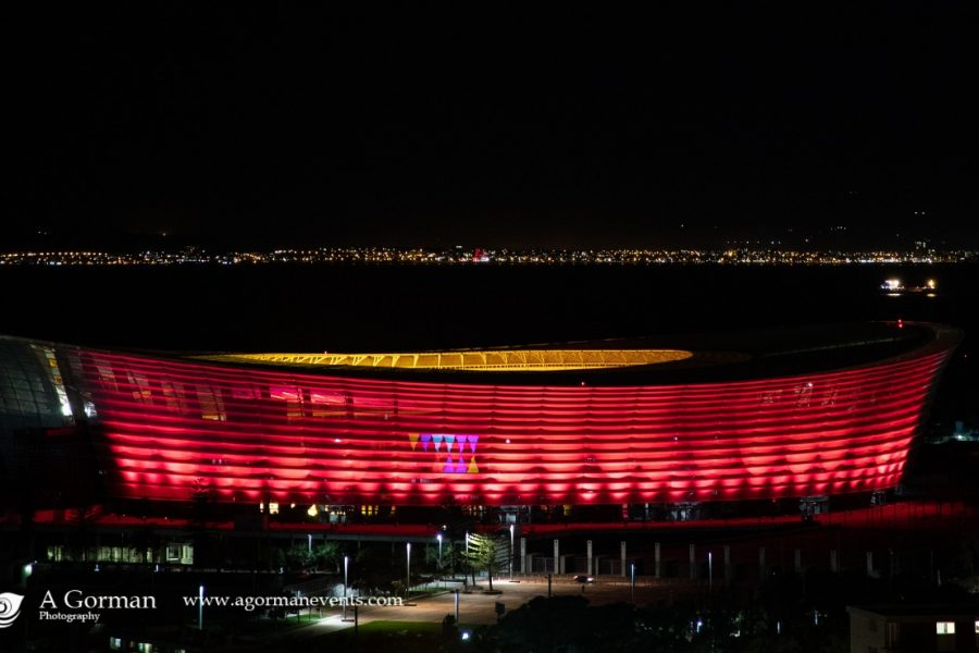 PICS: Events Industry #LightSARed