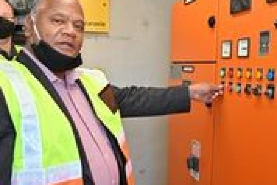 City's long-term water security boosted with first groundwater into Steenbras Dam