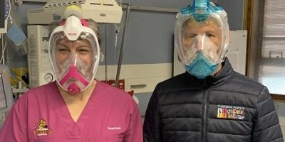 Snorkel Masks Now Protecting Western Cape Health Workers