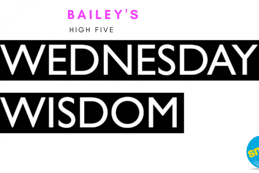 Bailey's High 5: 5 Brene Brown Quotes on Wednesday Wisdom