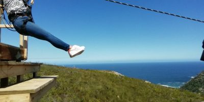 Watch: Longest and Highest Zipline in the Garden Route Opens