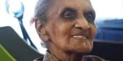 Watch: Centenarian 'Ma Fourie' beats Covid-19