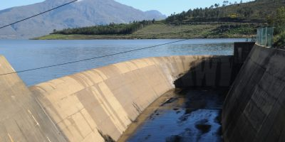 Pics: Theewaterskloof Dam is not yet overflowing, but is very, very close!