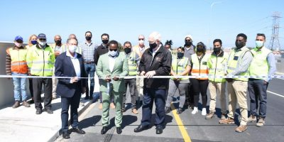 Upgraded Baden Powell Drive re-opened!