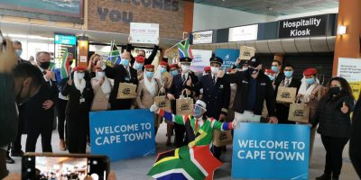 First Level 1 flights arrive at Cape Town International Airport