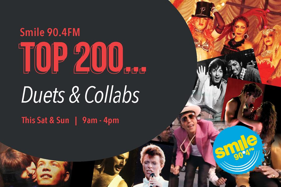 Smile 90.4FM Top 200 Weekends – Duets & Collabs