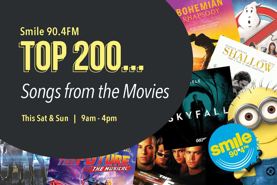 Top 200 Weekends – Songs From The Movies