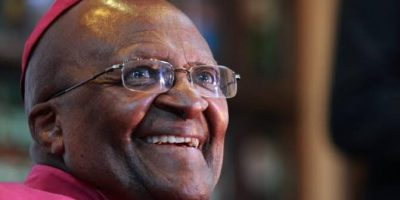 Watch: Libertas Choir sing birthday wishes to Arch Tutu on his 89th Birthday