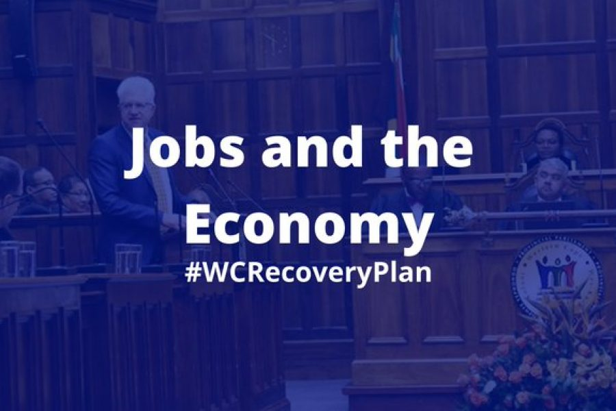 Watch: Premier Alan Winde's recovery plan for the Western Cape post Covid-19