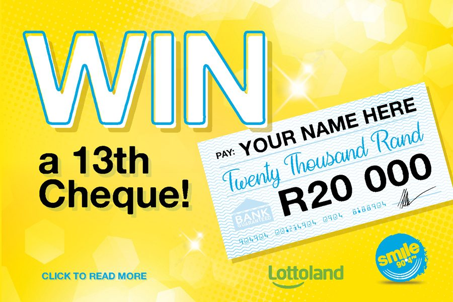 13th Cheque Competition with Lottoland