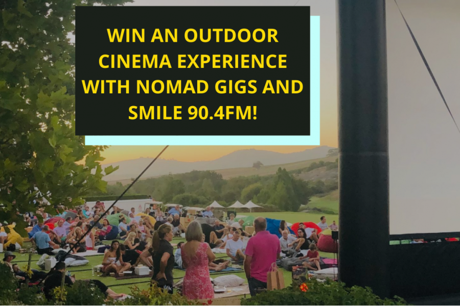 WIN AN OUTDOOR CINEMA EXPERIENCE WITH NOMAD GIGS!