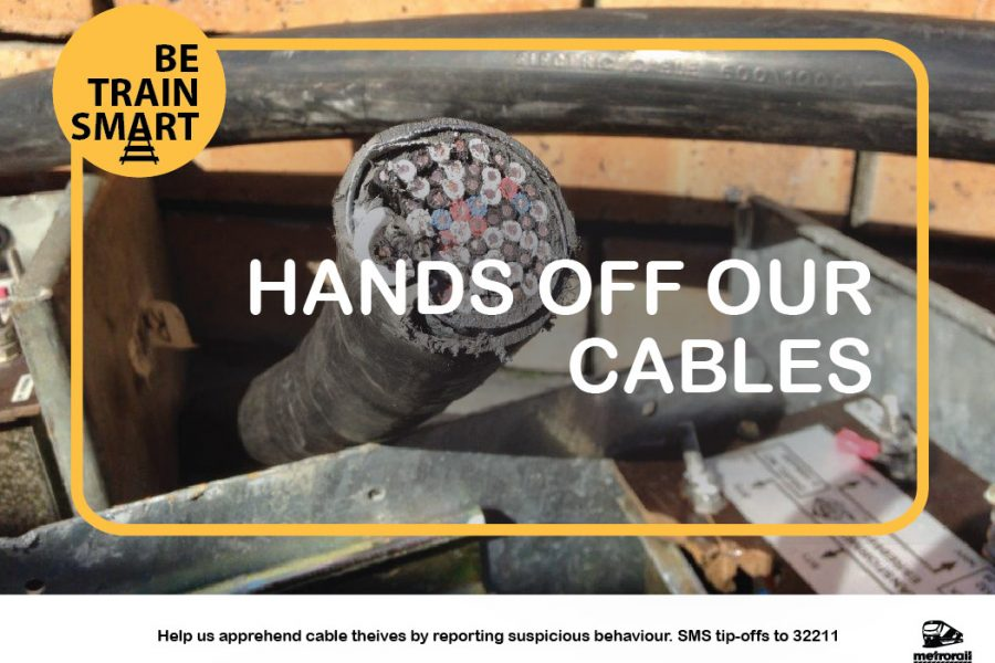 Metrorail W.C. recovers 31-kgs of stolen copper-cable
