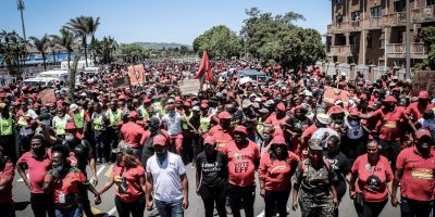 City determining cost of damages after EFF protesters cause havoc