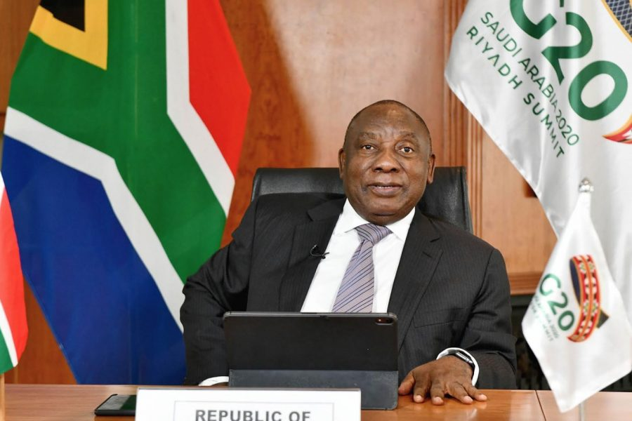 """Ramaphosa: G20-countries must work towards creating """"equal opportunities for all"""""""