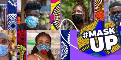"W.H.O. Africa launches ""Mask Up, Not Down""-campaign"