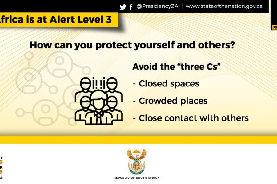 Level 3 to see in the New Year in South Africa