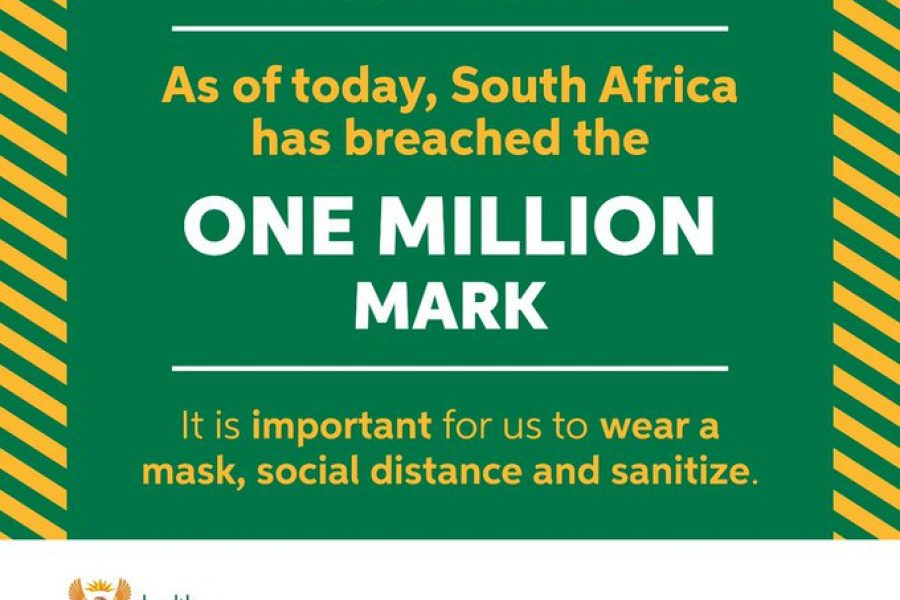 South Africa surpasses 1 million Covid-19 cases as NCCC meets to discuss restrictions