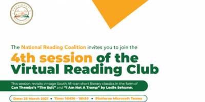 Join the President's Reading Circle next week!