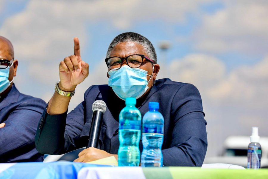Transport Minister Fikile Mbalula concerned about high number of pedestrian fatalities