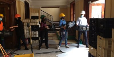 More volunteers needed to salvage archives from fire-ravaged UCT Jagger Reading Room