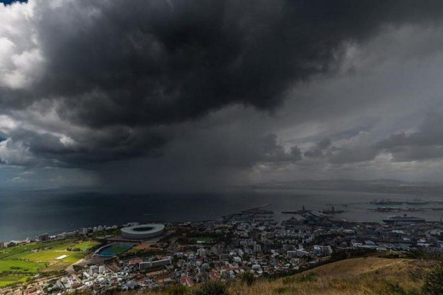 Western Cape gearing up for a major winter storm this evening