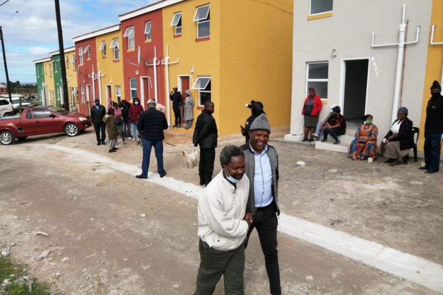 More families move into new homes in Grabouw