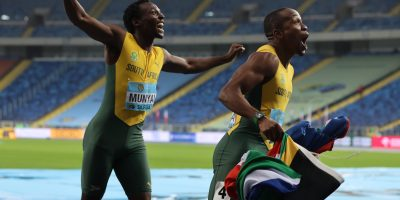 WATCH: South Africa won gold at the World Relay Championships in Poland