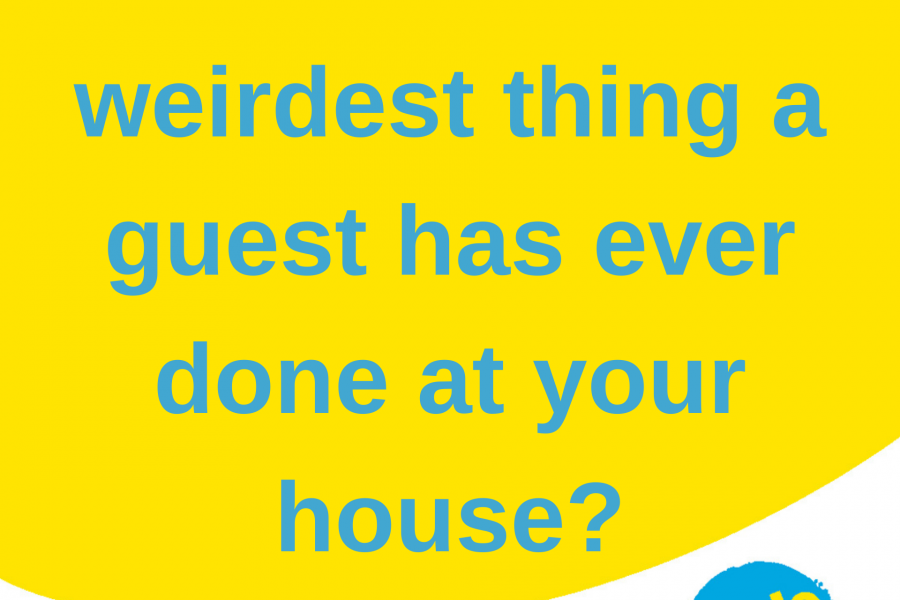 [LISTEN] The Weirdest Guests at Your House