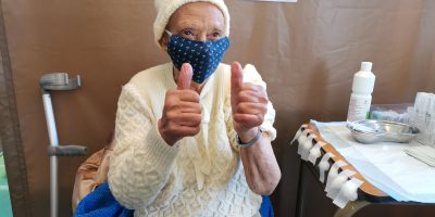 Elderly residents in the Western Cape add their voice of support for the Covid-19 vaccine