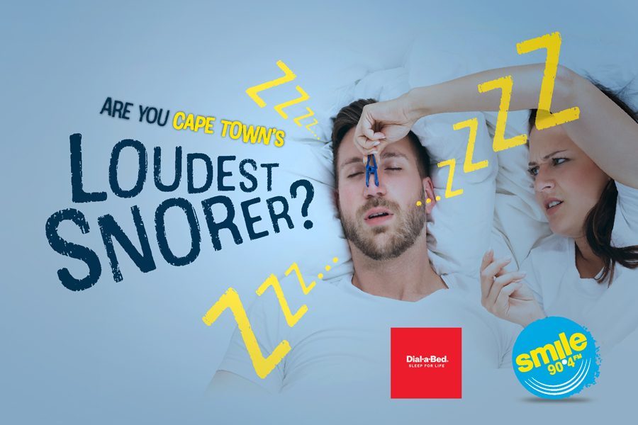 Smile 90.4Fm is on the hunt for Cape Town's Loudest Snorer.