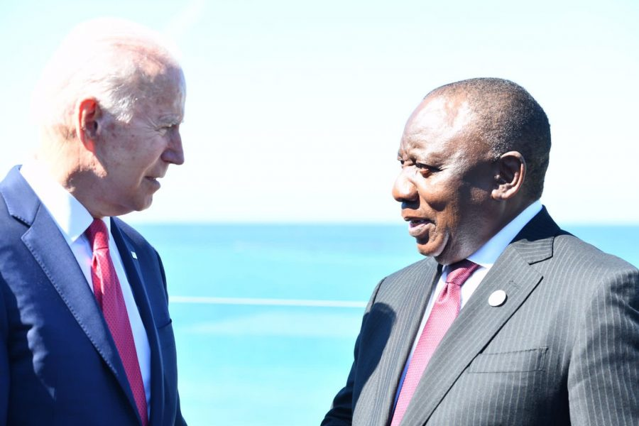 Ramaphosa is hopeful the country's Covid-19 vaccination program will receive a boost, despite bad news on J&J jabs
