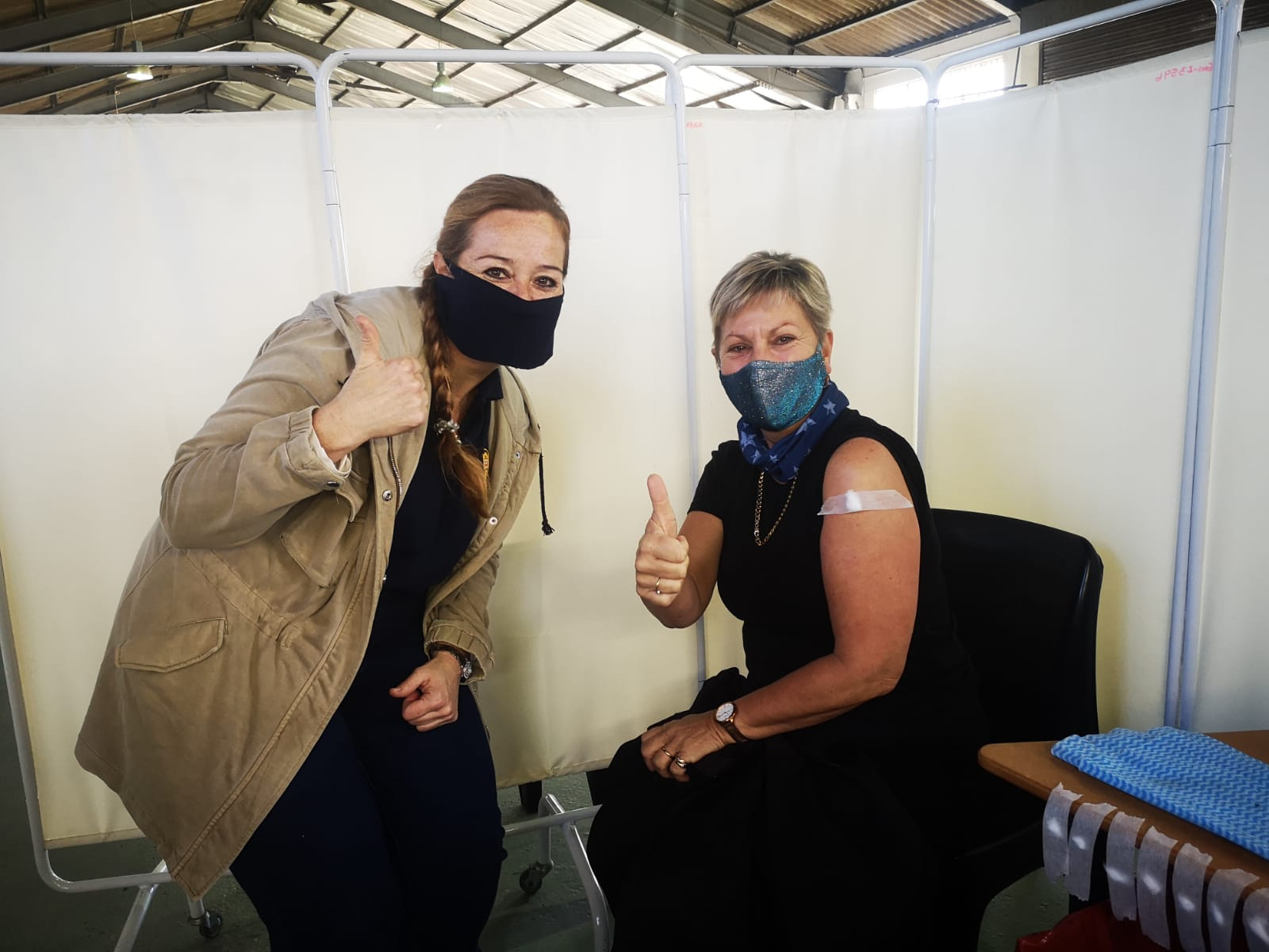 Western Cape, Department of Health. Covid-19 vaccinations. vaccine supply, Keith Cloete