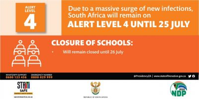 IN FULL: President Cyril Ramaphosa extends lockdown Level 4 – with a few changes