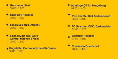 List of sites: Saturday Covid-19 vaccinations available for 24 July