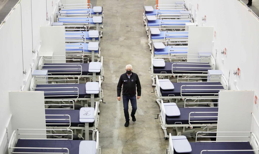 Western Cape, covid-19, bed capacity, third wave, hospitalizations