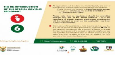 How to apply for the R350 special Covid-19 grant
