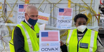 SA receives first consignment of Pfizer covid-19 vaccines from US government