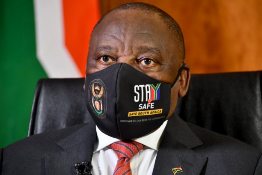 Ramaphosa urges political leaders to encourage their supporters to get vaccinated