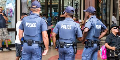 South African police must – within the confines of the law – defend their own lives & lives of law abiding citizens