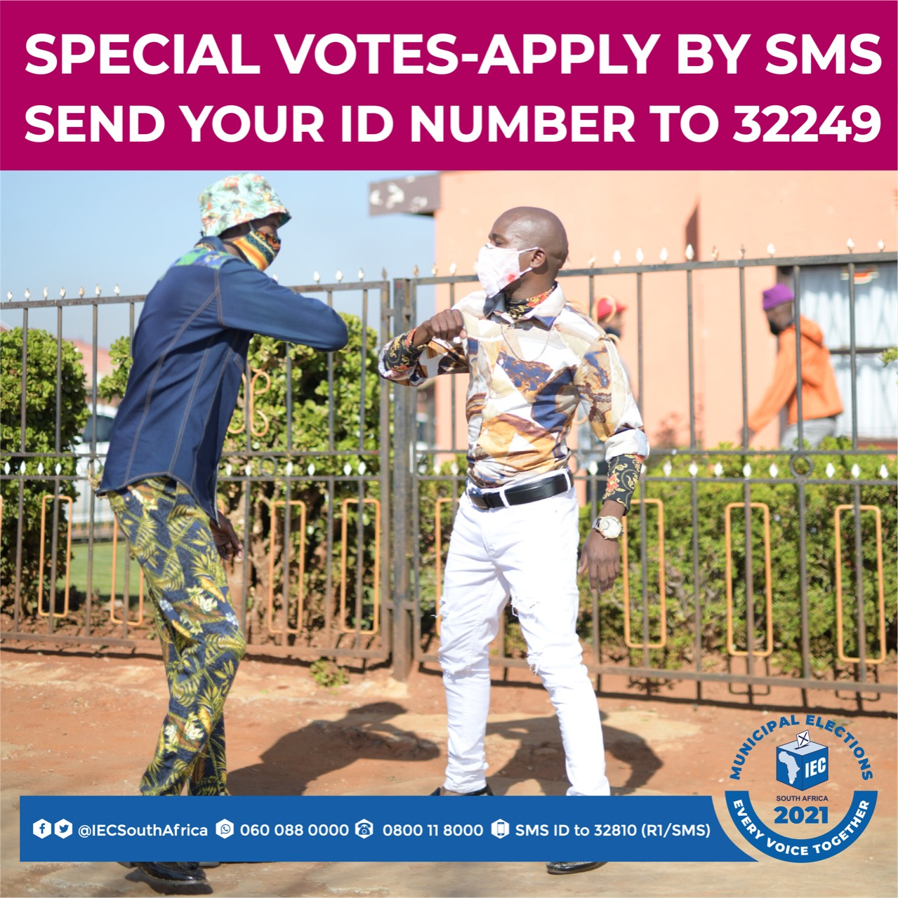 IEC, Independent Electoral Commission, special votes, special voting registration, Glen Mashinini