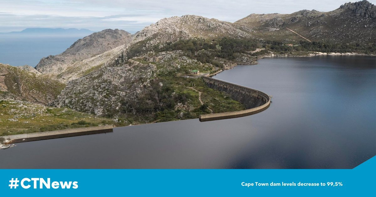 Western Cape, dam levels, City of Cape Town, James-Brent Styan