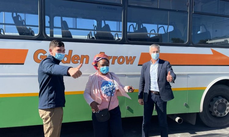 Covid-19, Covid-19 pandemic, Covid-19 vaccination, Covid-19 vaccination programme, Western Cape, Cape Town, Western Cape Department of Transport, Western Cape Department of Health, Golden Arrow Bus Service, GABS, Bronwyn Dyke-Beyer